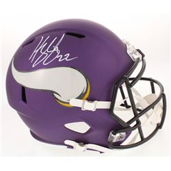 Harrison Smith Signed Minnesota Vikings Full-Size Speed Helmet (Radtke COA)