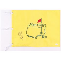 Bubba Watson Signed Masters Tournament Pin Flag (JSA COA)