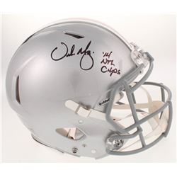 "Urban Meyer Signed Ohio State Buckeyes Full-Size Authentic On-Field Speed Helmet Inscribed "" '14 Nat"