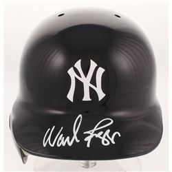 Wade Boggs Signed New York Yankees Authentic Full-Size Batting Helmet (Steiner COA)