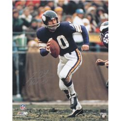 "Fran Tarkenton Signed Minnesota Vikings 16x20 Photo Inscribed ""HOF 86"" (Radtke COA)"