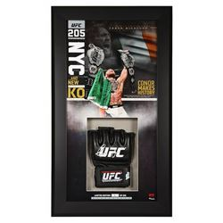 Conor McGregor Signed 13x23 Custom Framed Limited Edition UFC Glove Display (Fanatics Hologram)