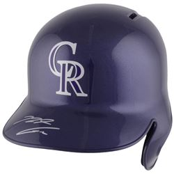 Nolan Arenado Signed Colorado Rockies Full-Size Batting Helmet (Fanatics Hologram)