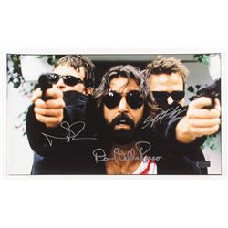 "Norman Reedus, Sean Patrick Flanery  David Della Rocco Signed ""The Boondock Saints"" 9.5x17 Photo (Ra"