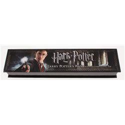 "Daniel Radcliffe Signed ""Harry Potter"" Wand Box (PSA COA)"