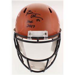 "Brian Urlacher Signed Chicago Bears Full-Size Hydro Dipped Speed Helmet Inscribed ""HOF 2018"" (JSA CO"