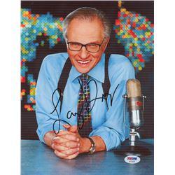 Larry King Signed 8x10 Photo (PSA COA)