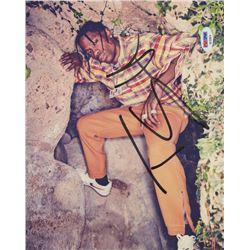 Travis Scott Signed 8x10 Photo (PSA COA)