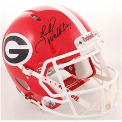 Herschel Walker Signed Georgia Bulldogs Full-Size Authentic On-Field Speed Helmet (Beckett COA)