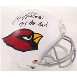 Anquan Boldin Signed Arizona Cardinals Full-Size Authentic On-Field Helmet Inscribed  3x Pro Bowl  (