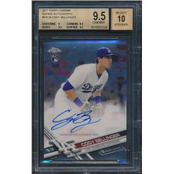 2017 Topps Chrome Rookie Autographs #RACB Cody Bellinger (BGS 9.5)