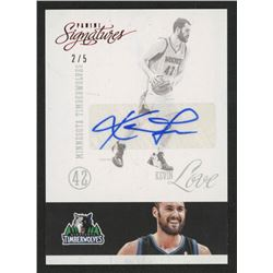 2012-13 Panini Signatures #72 Kevin Love