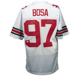 Nick Bosa  Joey Bosa Signed Ohio State Buckeyes Jersey (JSA COA)