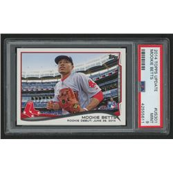 2014 Topps Update #US301 Mookie Betts (PSA 9)
