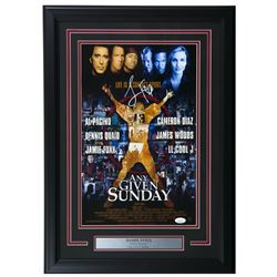 "Jamie Foxx Signed "" Any Given Sunday"" 17x25 Custom Framed Photo Display (JSA COA)"