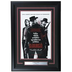 "Jamie Foxx Signed ""Django Unchained"" 17x25 Custom Framed Photo Display (JSA COA)"