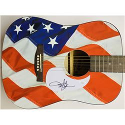 "Toby Keith Signed ""USA"" Acoustic Guitar (JSA COA)"