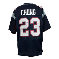 Patrick Chung Signed New England Patriots Jersey (Sports Integrity COA)