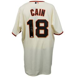 Matt Cain Signed San Francisco Giants Jersey (MLB Hologram)