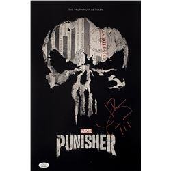 "Jon Bernthal Signed ""Punisher"" 11x17 Photo (JSA COA)"