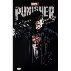 Jon Bernthal Signed  Punisher  11x17 Photo (JSA COA)