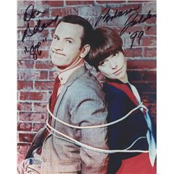 "Don Adams  Barbara Feldon Signed ""Get Smart"" 8x10 Photo Inscribed ""86""  ""99"" (Beckett COA)"