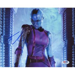 Karen Gillan Signed  Guardians of the Galaxy  8x10 Photo (PSA COA)