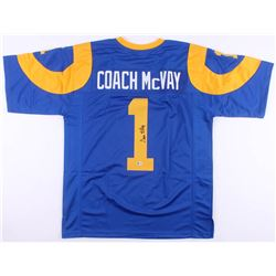 Sean McVay Signed Los Angeles Rams Jersey (Beckett COA)