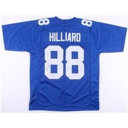 Ike Hilliard Signed New York Giants Jersey (Beckett COA)