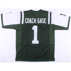 Adam Gase Signed New York Jets Jersey (Beckett COA)