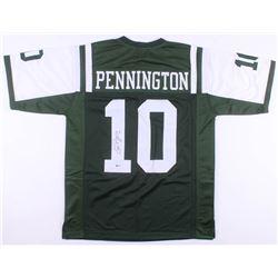 Chad Pennington Signed New York Jets Jersey (Beckett COA)