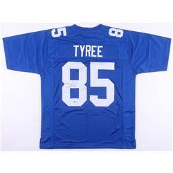 David Tyree Signed New York Giants Jersey (Beckett COA)