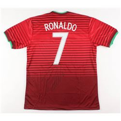 Cristiano Ronaldo Signed Portugal Jersey (Beckett COA)