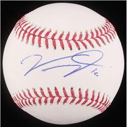 Victor Robles Signed OML Baseball (JSA COA)