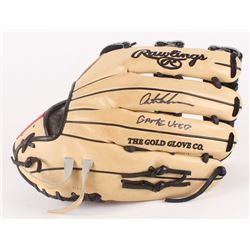 Austin Meadows Signed Game-Used Rawlings PROS303-6PRO Model Baseball Glove Inscribed  Game Used  (Ra