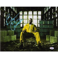 Bryan Cranston Signed  Breaking Bad  11x14 Photo (PSA COA)