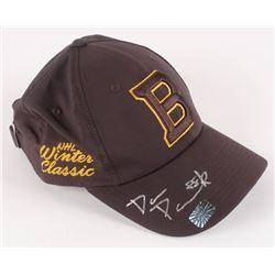 David Pastrnak Signed Boston Bruins 2019 Winter Classic Adjustable Hat (Pastrnak COA)