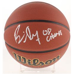 "Bill Self Signed NCAA Game Ball Series Basketball Inscribed ""08 Champs"" (Beckett Hologram)"