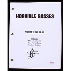 "Jason Bateman Signed ""Horrible Bosses"" Full Script (PSA COA)"