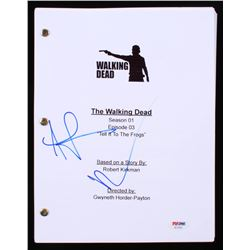 """Norman Reedus  Andrew Lincoln Signed """"The Walking Dead: Tell It To The Frogs"""" Episode Script (PSA CO"""