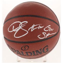 "DeMar DeRozan Signed Basketball Inscribed ""Go Spurs"" (Beckett Hologram)"