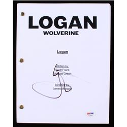 Hugh Jackman Signed  Logan  Full Movie Script (PSA COA)