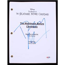 "Danny Elfman Signed ""The Nightmare Before Christmas"" Full Movie Script (PSA COA)"