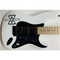 Tim McGraw  Faith Hill Signed Electric Guitar (JSA COA)