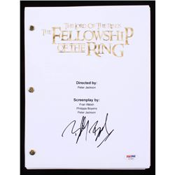 """BIlly Boyd Signed """"Lord of the Rings: The Fellowship of the Ring"""" Movie Script (PSA COA)"""
