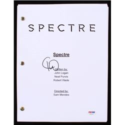 Christoph Waltz Signed  Spectre  Full Movie Script (PSA COA)