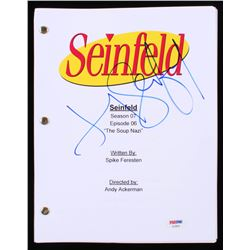 Jerry Seinfeld Signed  Seinfeld: The Soup Nazi  Episode Script (PSA COA)