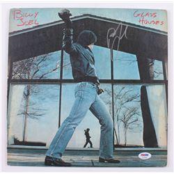 """Billy Joel Signed """"Glass Houses"""" Vinyl Record Album (PSA COA)"""