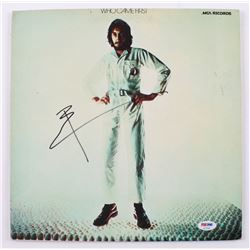 """Pete Townshend Signed """"Who Came First"""" Vinyl Record Album (PSA COA)"""