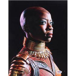 Danai Gurira Signed  Black Panther  11x14 Photo (PSA Hologram)
